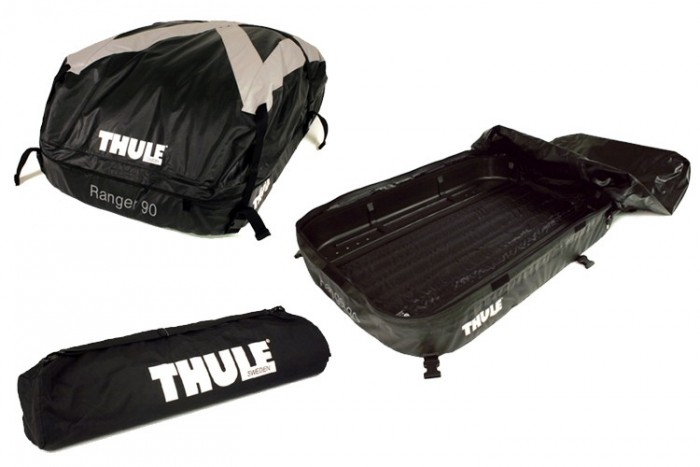 thule roof box ranger 90 evelostore. Black Bedroom Furniture Sets. Home Design Ideas