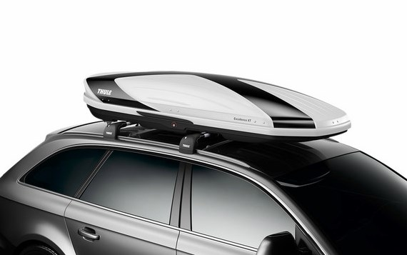 Thule roof box dynamic 900 white evelostore for Thule 1254